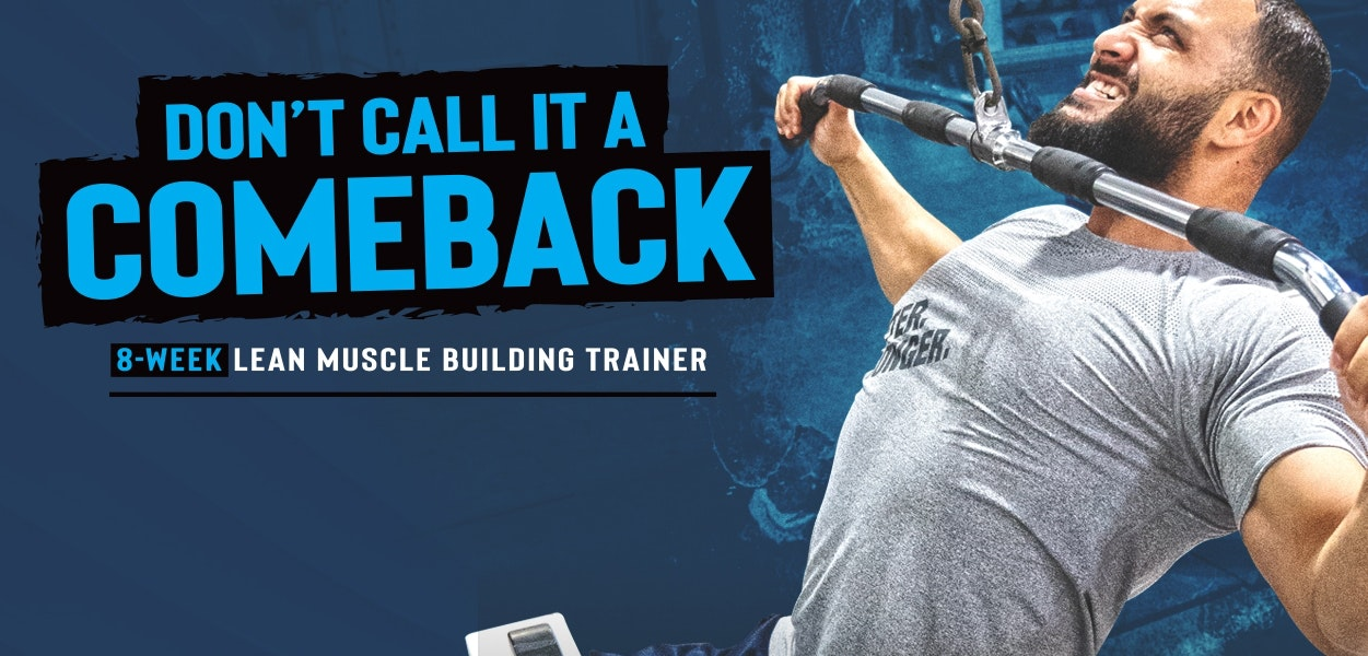 Abe's 8 Week Lean Muscle Trainer - BPI Sports