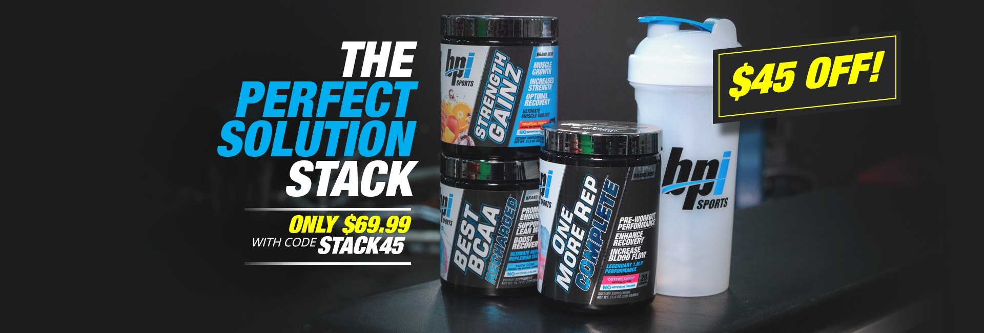 The Perfect Solution Stack - Save $45 by using code STACK45 at checkout!