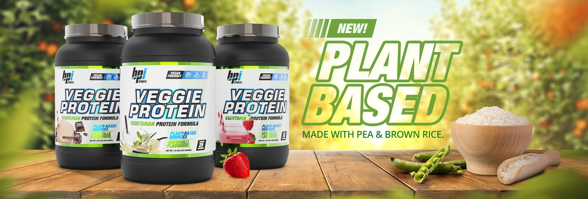 Veggie Protein! Now Available!